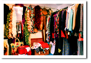 Hertforshire vintage boutique with vintage finds and vintage clothing
